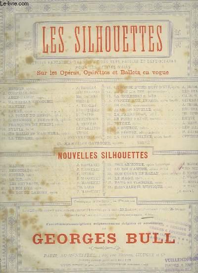 LES SILHOUETTES - N°28 : SIGURD POUR PIANO.