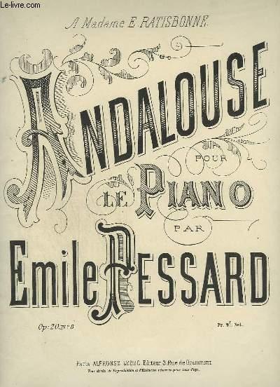 ANDALOUSE POUR LE PIANO.