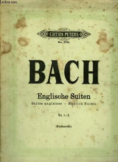 ENGLISCHE SUITEN / SUITES ANGLAISES / ENGLISH SUITES - N°1-3.