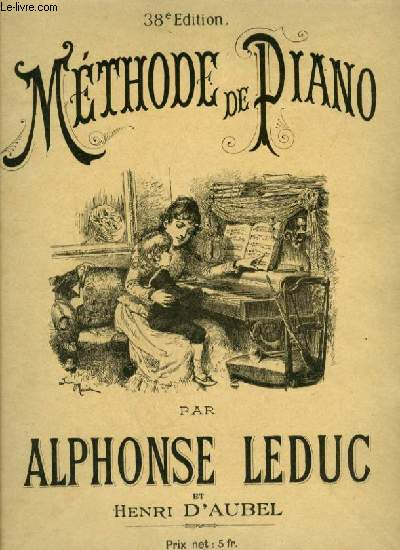 METHODE DE PIANO - 38° EDITION.