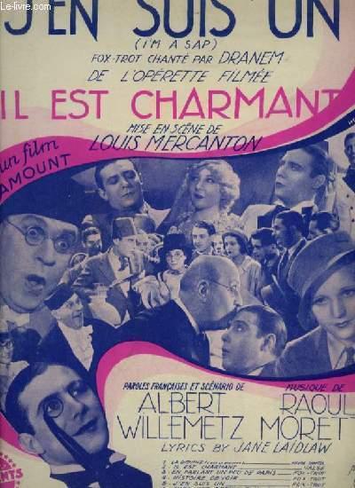 IL EST CHARMANT - N°5 : J'EN SUIS UN - PIANO ET CHANT.