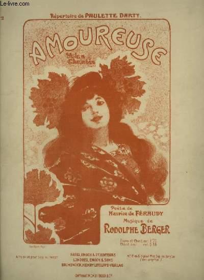 AMOUREUSES - VALSE CHANTEE POUR PIANO ET CHANT MEZZO SOPRANO OU BARYTON - TON ORIGINAL.