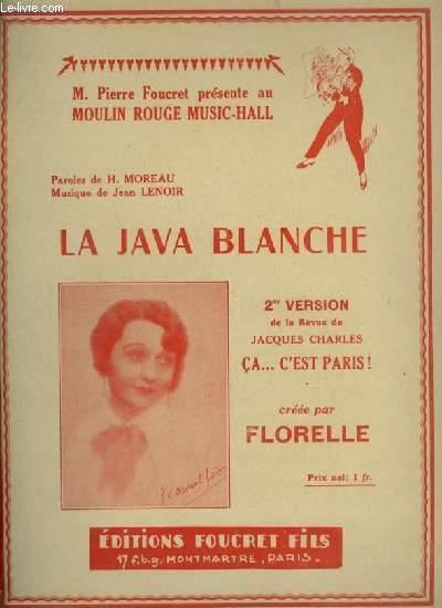 LA JAVA BLANCHE - POUR PIANO.