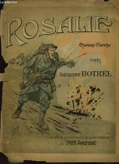 ROSALIE - CHANSON MARCHE POUR PIANO ET CHANT.