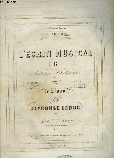 L'ECRIN MUSICAL - N°6 : LE DIAMANT POUR PIANO.