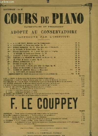 L'ALPHABET - 25 ETUDES TRES FACILES ET SANS OCTAVES POUR PIANO.
