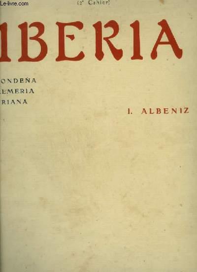 IBERIA - 2° CAHIER : RONDENA + ALMERIA + TRIANA.