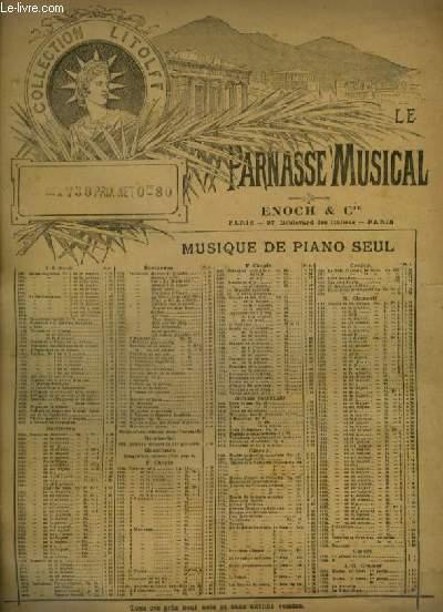 COMPOSITIONS POUR PIANO - N°32 : CAPRICCIO BRILLANT OP.22.