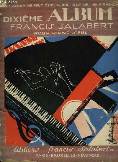 DIXIEME ALBUM - 25 TITRES POUR PIANO.