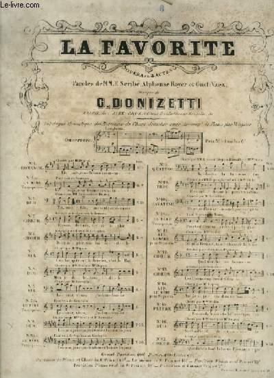 LA FAVORITE - N°8 : PIANO ET CHANT DUO.