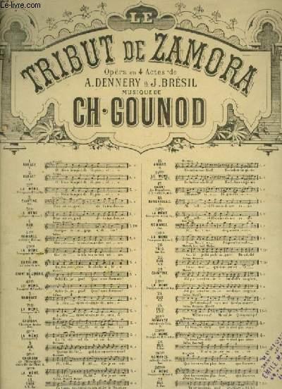 LE TRIBUT DE ZAMORA - N°25 TER : ROMANCE EXTRAITE DU TRIO POUR PIANO ET CHANT (HERMOSA) AVEC PAROLES.