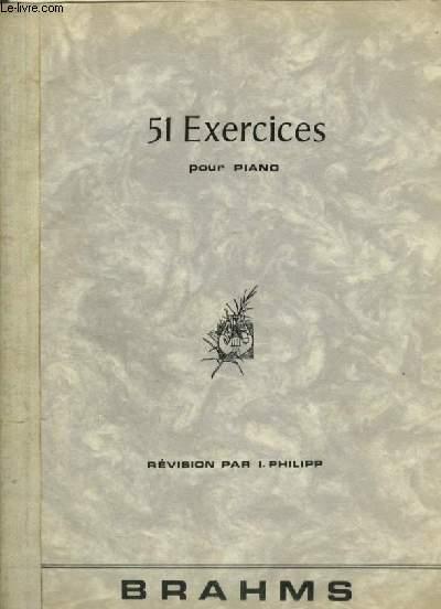 51 EXERCICES POUR PIANO.