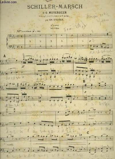 SCHILLER MARSCH - 2° PIANO.