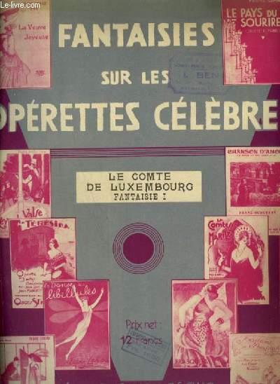 LE COMTE DE LUXEMBOURG - PIANO.