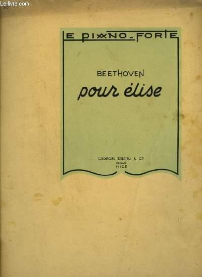 POUR ELISE - PIANO.