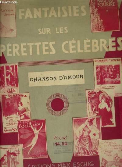 CHANSON D'AMOUR - POUR PIANO.