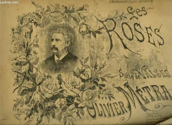 LES ROSES - SUITE DE VALSES POUR PIANO.