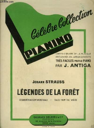 LEGENDES DE LA FORET VIENNOISE - COLLECTION PIANINO N°22.