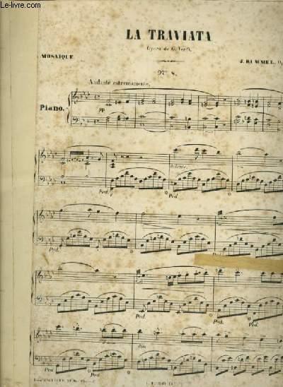 LA TRAVIATA - N°8 : PIANO.