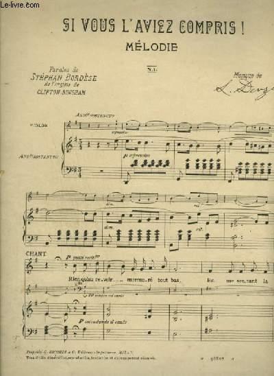 SI VOUS L'AVIEZ COMPRIS ! - PIANO / VIOLON / CHANT + VIOLONCELLE + VIOLON.