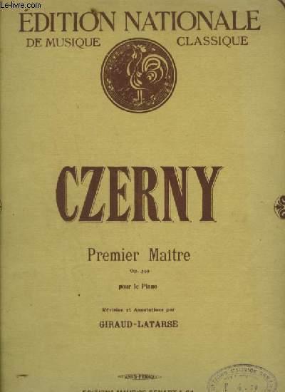 PREMIER MAITRE - POUR LE PIANO.