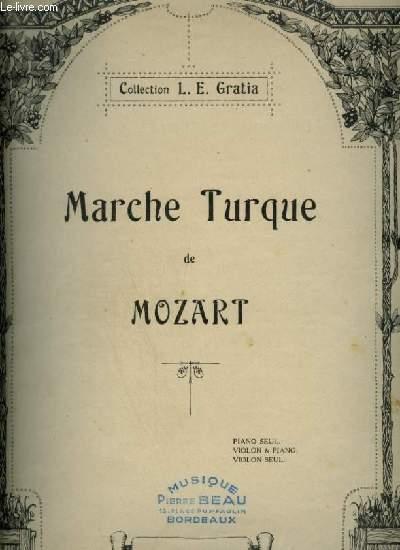 MARCHE TURQUE - POUR PIANO.