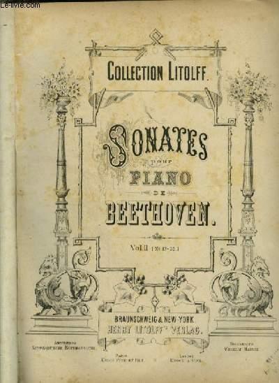 SONATES POUR PIANO - VOLUME 2 : DE 17 A 32.
