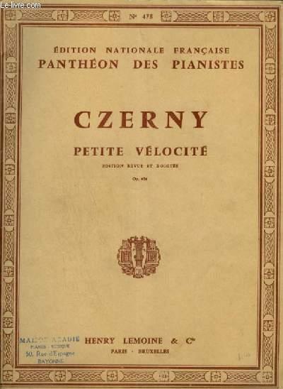 PETITE VELOCITE - OP.636 POUR PIANO.
