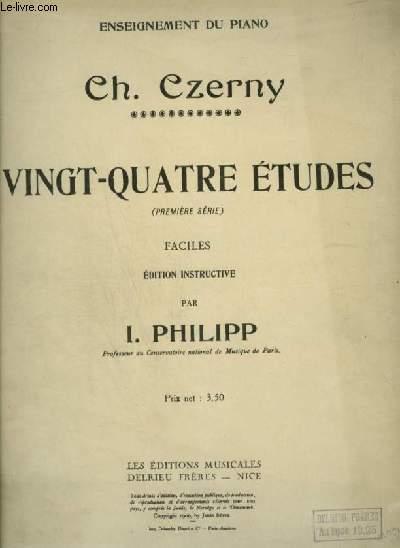 24 ETUDES - FACILES POUR PIANO.
