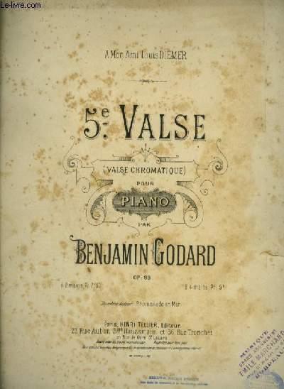 5° VALSE - VALSE POUR PIANO.