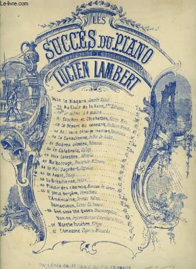 LES SUCCES DU PIANO - OP.30 : VARIATIONS ET FINAL SUR L'AIR AU CLAIR DE LA LUNE - PIANO.