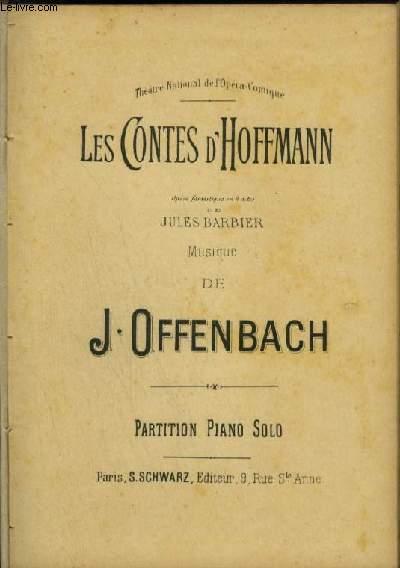 LES CONTES D'HOFFMANN - POUR PIANO SOLO.