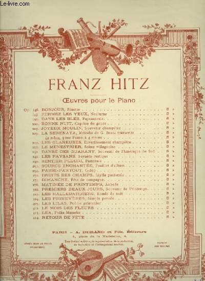 JOYEUX MOULIN - POUR PIANO.