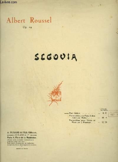 SEGOVIA - POUR GUITARE.