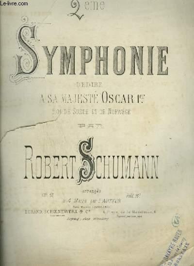 2° SYMPHONIE - POUR PIANO A 4 MAINS.