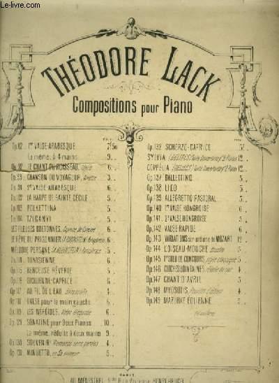 SYLVIA - SUITE POUR 2 PIANOS.