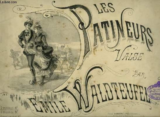 LES PATINEURS - VALSE POUR PIANO A 2 MAINS.
