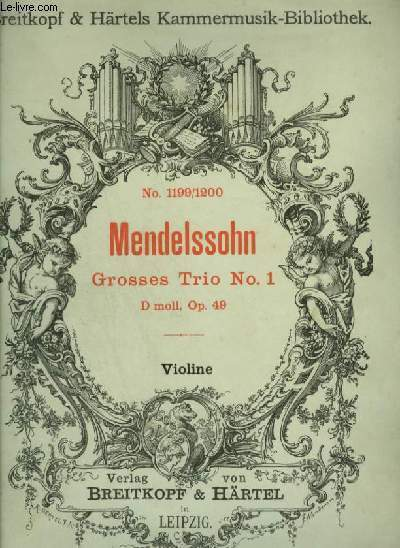 GROSSES TRIO - N°1 : VIOLINO.