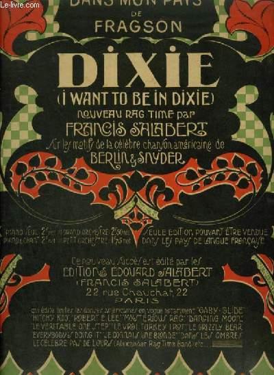 DIXIE - POUR PIANO.