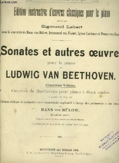 SONATES ET AUTRES OEUVRES POUR LE PIANO - VOLUME 5.