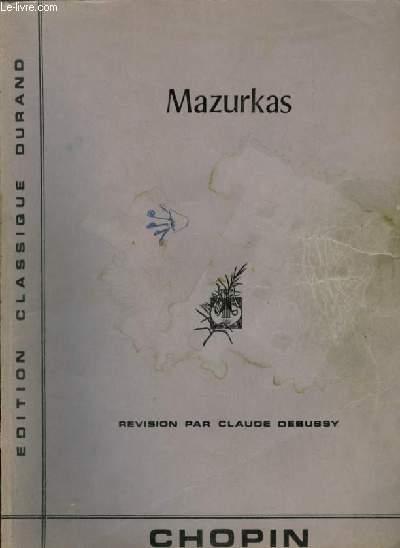 MAZURKAS - POUR PIANO.