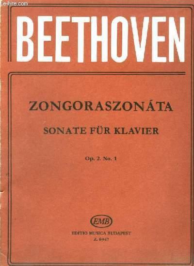 ZONGORASZONATA - SONATE FÜR KLAVIER - OP.2 N°1.