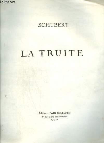 LA TRUITE - POUR PIANO.
