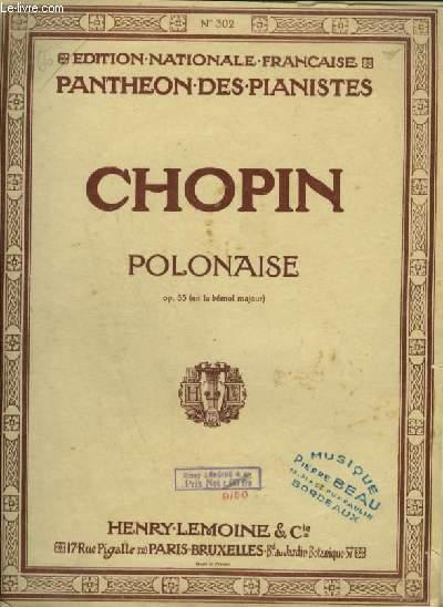 POLONAISE - OP.53 POUR PIANO.