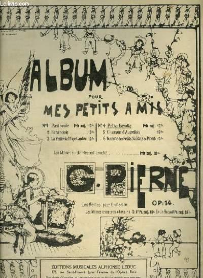 ALBUM POUR MES PETITS AMIS - OP. 14 N°4 : PETITE GAVOTTE - POUR PIANO.