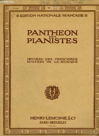 PIECES DE CLAVECIN OU PIANO - LIVRE 1 : LES CULBUTES JACOBINES + LE CARILLON DE CYTHERE + LE TURBULENT.