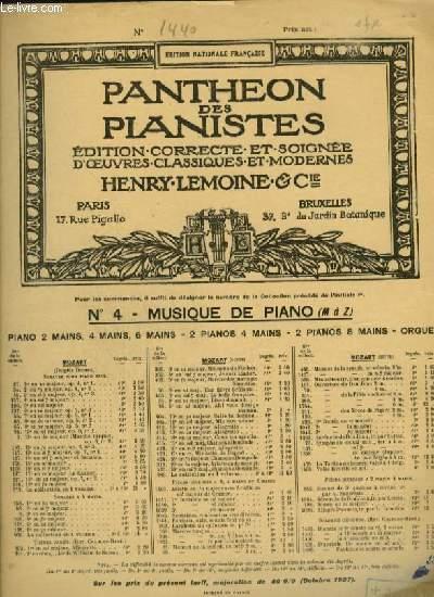SOEUR MONIQUE - RONDEAU POUR PIANO.