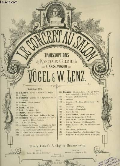BILDER AUS OSTEN / REFLETS D'ORIENT / ORIENTAL PICTURES - POUR PIANO ET VIOLON OU VIOLONCELLE OU FLUTE.