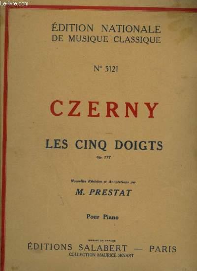 LES CINQ DOIGTS - OP.777 - POUR PIANO.