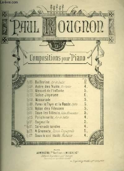 BALLERINE - OP.103 POUR PIANO.
